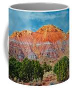 Painted Red Earth Coffee Mug