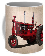 Red Farmall Tractor Coffee Mug