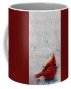 Red Feathers Coffee Mug