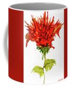 Red Flower 2 Coffee Mug