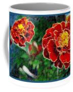 Red Flower In Autumn Coffee Mug