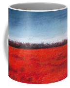 Red Flowering - Poppies Coffee Mug