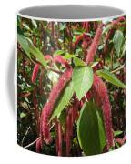 Red Fluffy Flower Coffee Mug