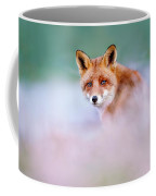 Red Fox In A Mysterious World Coffee Mug