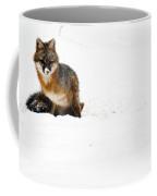 Red Fox In The Snow Coffee Mug