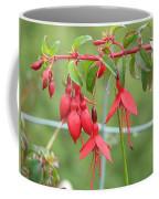 Red Fresia Coffee Mug