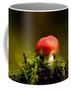 Red Fungus Coffee Mug