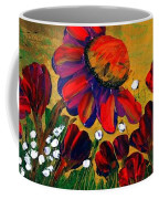 Red Garden Coffee Mug
