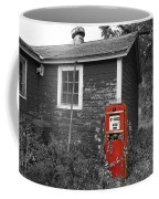 Red Gas Pump Coffee Mug