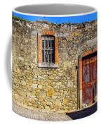 Red Gate, Stone Wall Coffee Mug