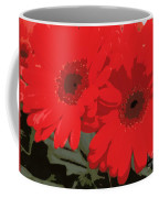 Red Gerberas Coffee Mug
