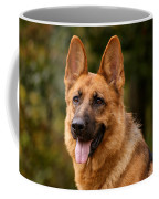 Red German Shepherd Dog Coffee Mug