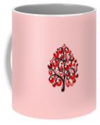 Red Glass Ornaments Coffee Mug