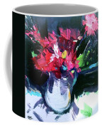 Red Glow Coffee Mug by John Jr Gholson