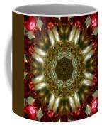 Red Gold Kaleidoscope 1 Coffee Mug