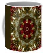 Red Gold Kaleidoscope 2 Coffee Mug