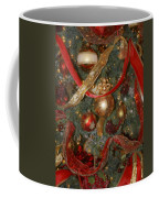 Red Gold Tree No 2 Fashions For Evergreens Event Hotel Roanoke 2009 Coffee Mug