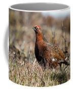 Red Grouse Coffee Mug