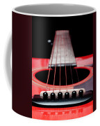 Red Guitar 16 Coffee Mug
