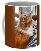 Red-haired Kitten Coffee Mug