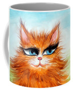 Red-haired Sofia The Cat Coffee Mug