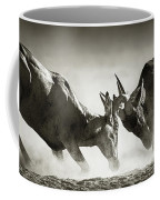 Red Hartebeest Dual In Dust Coffee Mug