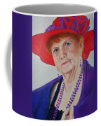 Red-hat Lady Coffee Mug