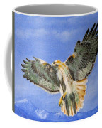 Red Hawk, 11x14, Oil, '07 Coffee Mug