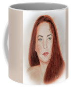 Red Headed Beauty Coffee Mug