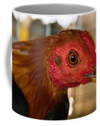 Red Headed Chicken Coffee Mug