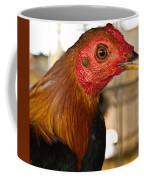 Red Headed Chicken Head Coffee Mug