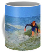 Red Headed Surfer Coffee Mug