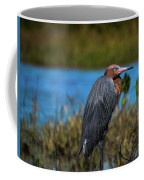 Red Heron Coffee Mug