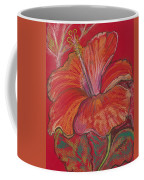 Red Hibiscus #1 Coffee Mug