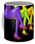 Red High-heeled Shoes Coffee Mug