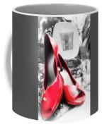 Red High Heels Coffee Mug