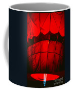 Red Hot Air Balloon Coffee Mug