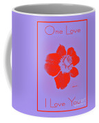 Red Hot Passion Flower Coffee Mug