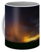 Red Hot Rain Sunset  Coffee Mug