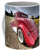 Red Hot Rod - 1930s Ford Coupe Coffee Mug