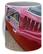Red Hot Vents - Classic Fastback Mustang Coffee Mug