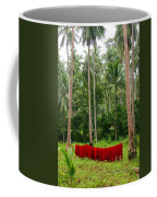 Red In The Jungle Coffee Mug