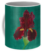 Red Iris Coffee Mug