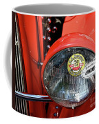 Red La Roadster Coffee Mug