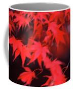 Red Leaves In Fall  Coffee Mug