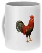 Red Leghorn Rooster Coffee Mug