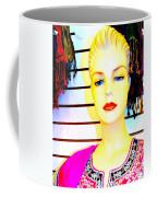 Red Lips And Sequins Coffee Mug