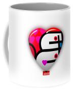 Red Love Heart Coffee Mug
