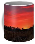 Red Marsh Sunrise Coffee Mug