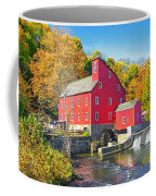 Red Mill Nj Fall Landscape Coffee Mug